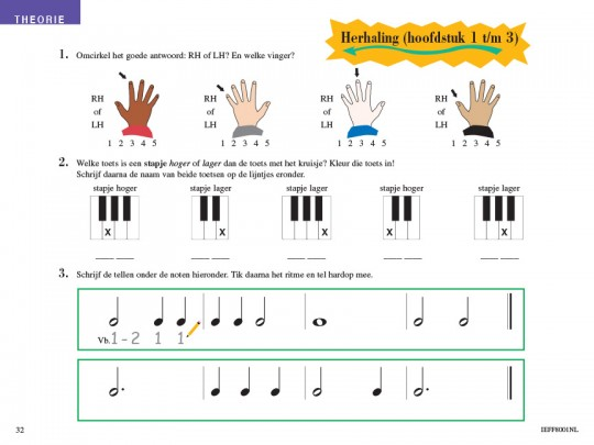 Piano Adventures® Level 1 Lesson & Theory Book with CD 6