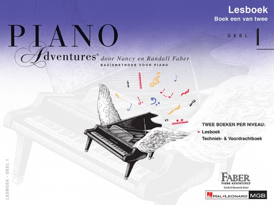 Piano Adventures® Level 1 Lesson & Theory Book with CD 1