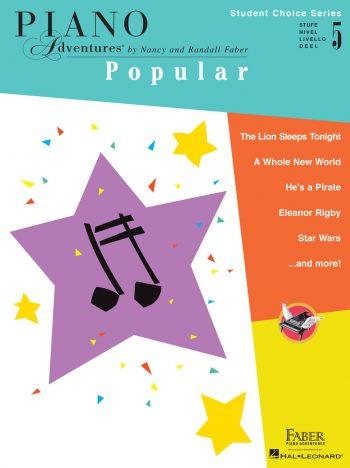 Piano Adventures Student Choice Popular Level 5