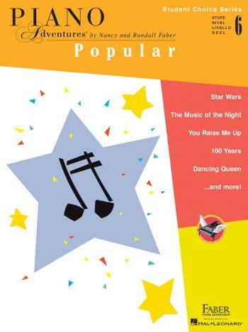 Piano Adventures Student Choice Popular Level 6