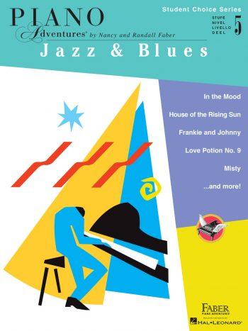 Piano Adventures Student Choice Jazz & Blues Level 5