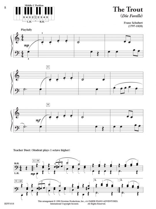 Piano Adventures Student Choice Classics Level 2