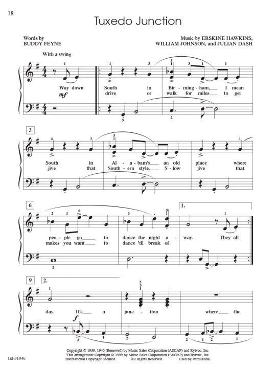 Piano Adventures Student Choice Jazz & Blues Level 4