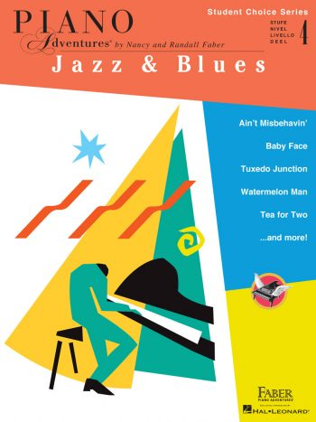 Piano Adventures Student Choice Jazz & Blues Level 4