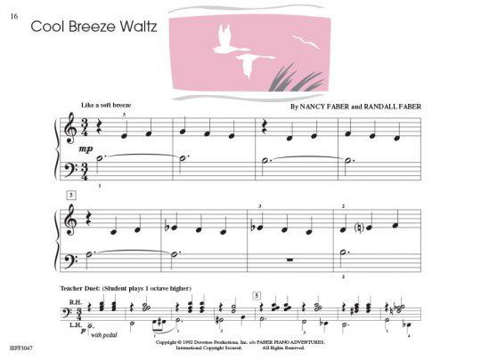Piano Adventures Student Choice Jazz & Blues Level 1