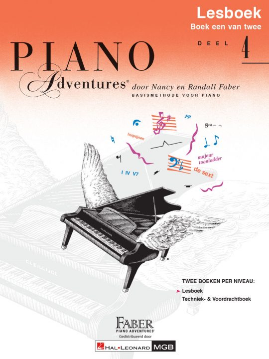 Piano Adventures® Level 4 Lesson & Theory Book