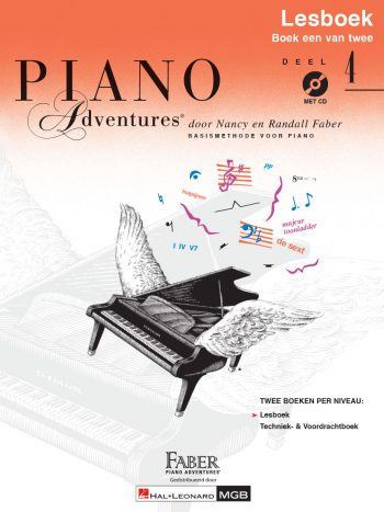 Piano Adventures® Level 4 Lesson & Theory Book with CD