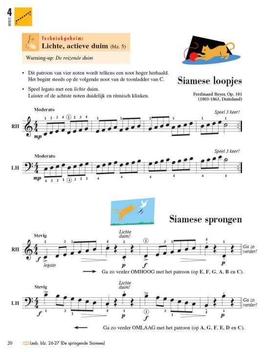Piano Adventures® Level 4 Technique & Performance Book