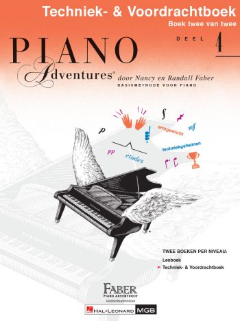 Piano Adventures® Level 4 Technique & Performance Book