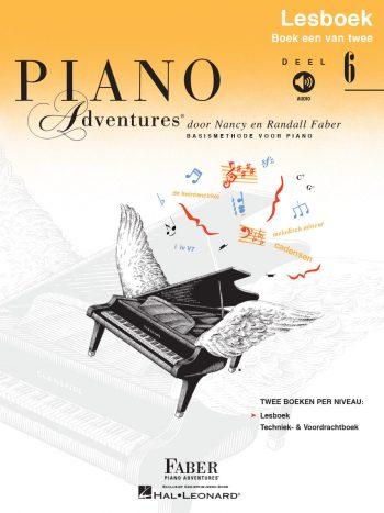 Piano Adventures® Deel 6 Lesboek