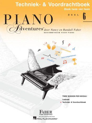 Piano Adventures® Deel 6 Techniek– & Voordrachtboek