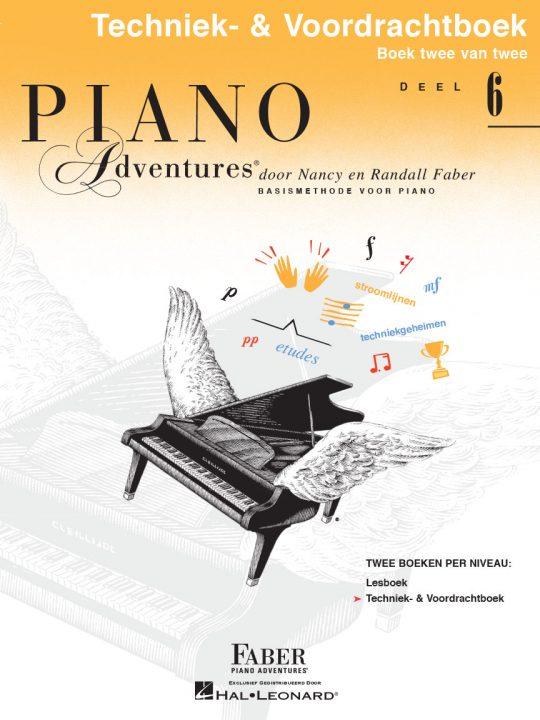 Piano Adventures® Level 6 Technique & Performance Book